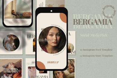 BERGAMIA Instagram Template