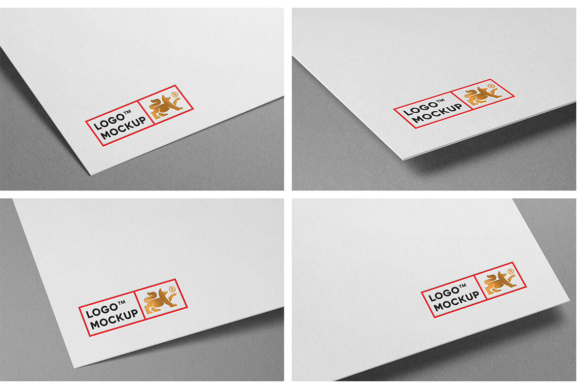 Logo Mockup Branding Bundle