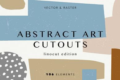 Abstract Art Cutouts