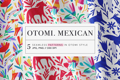 Otomi Mexican Patterns