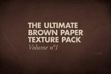 Brown Paper Texture Pack Volume 01