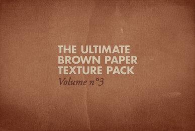 Brown Paper Texture Pack Volume 03