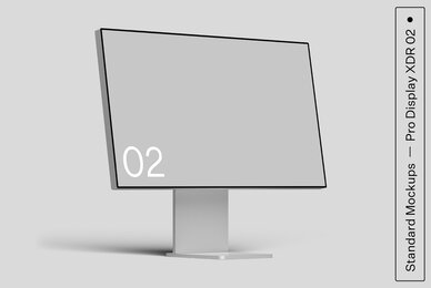 Pro Display XDR 02 Standard Mockup
