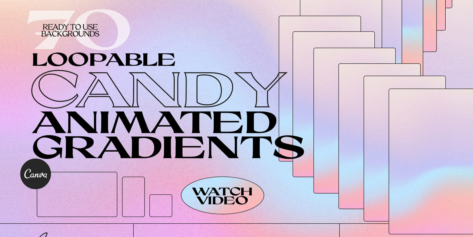 CANDY - Animated Gradients