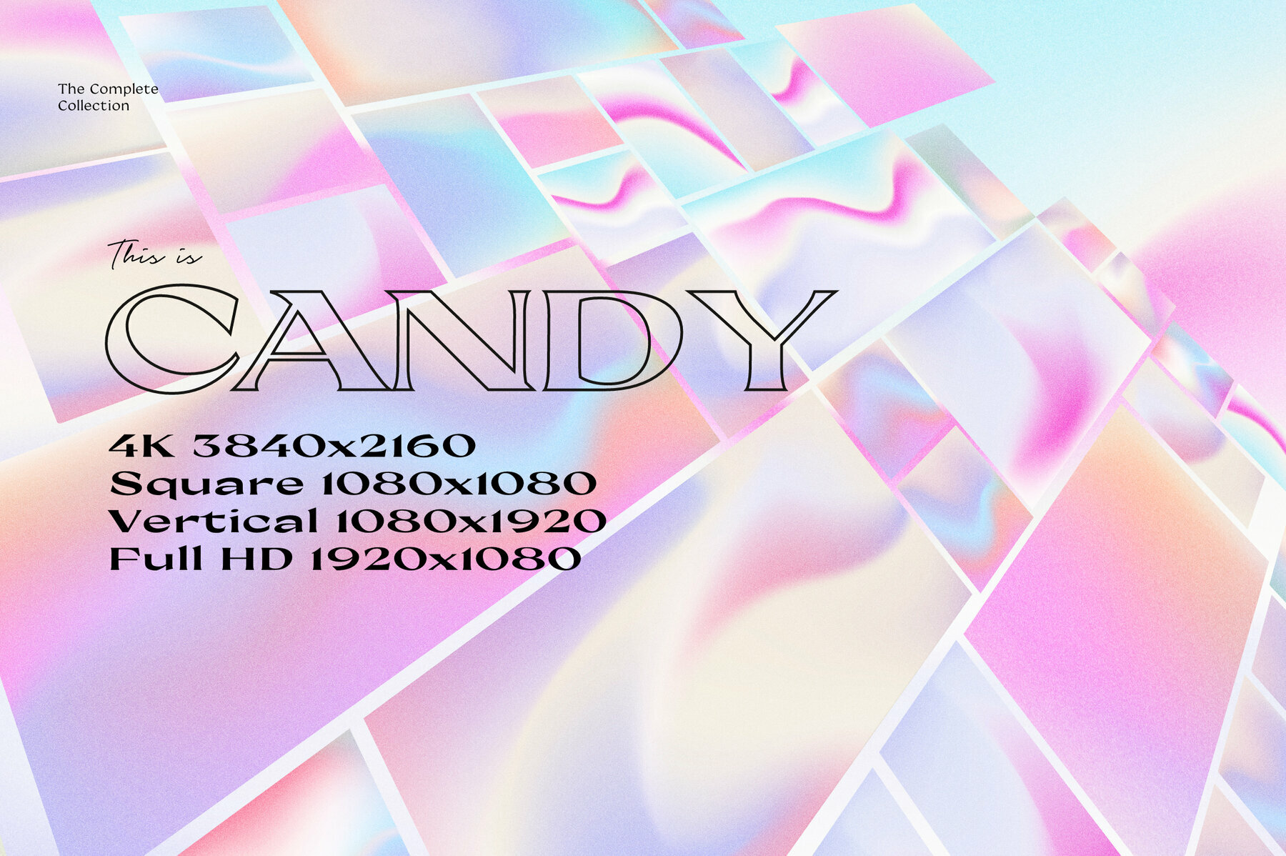 CANDY   Animated Gradients