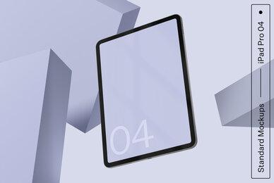 iPad Pro 04 Standard Mockup
