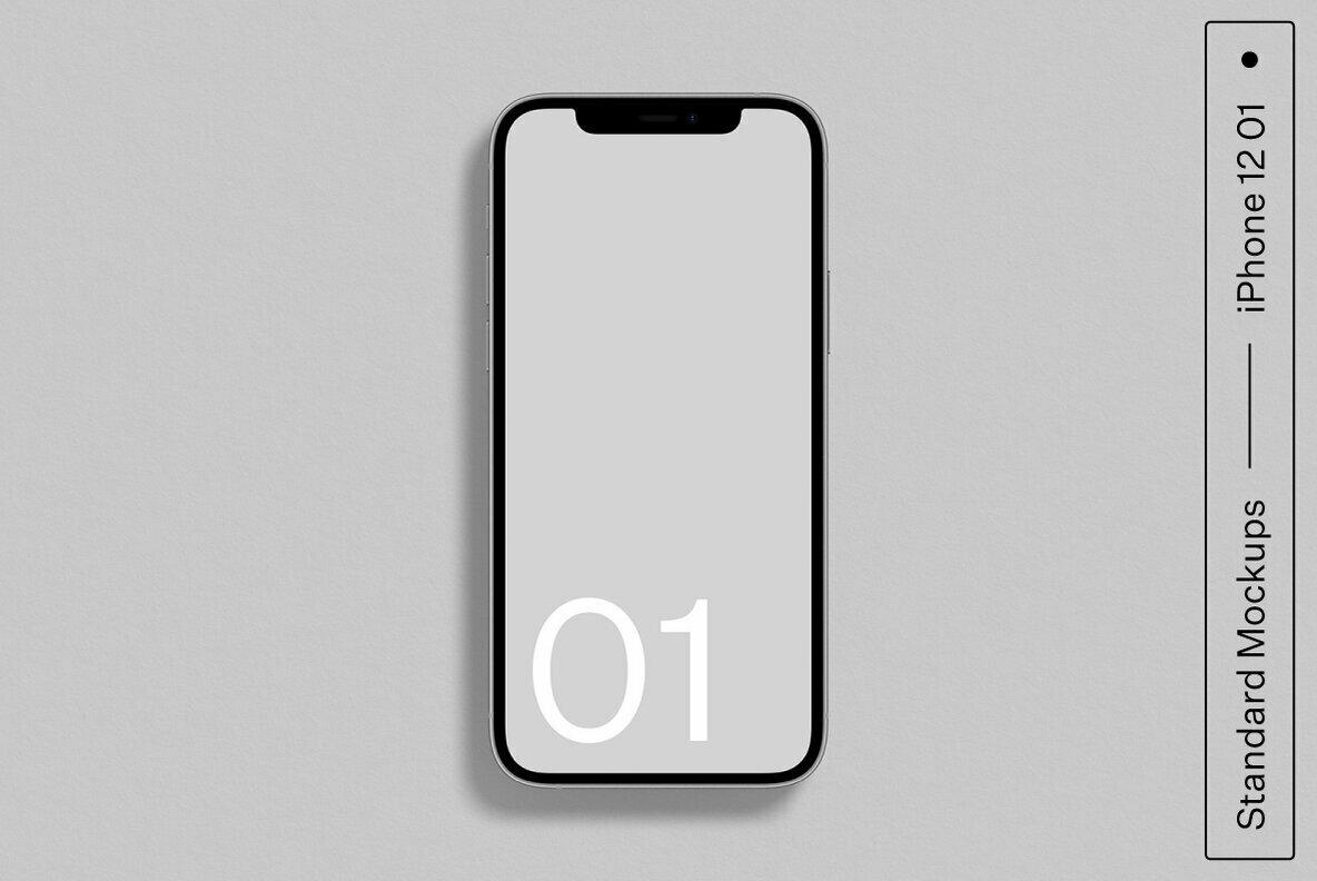 iPhone 12 01 Standard Mockup