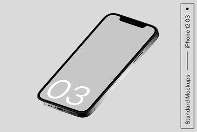 iPhone 12 03 Standard Mockup