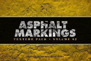 Asphalt Markings Textures Volume 02