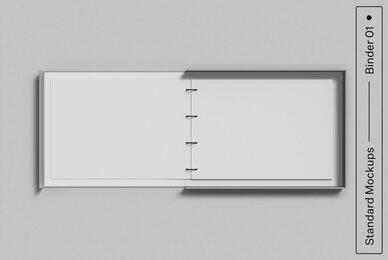 Binder 01 Standard Mockup