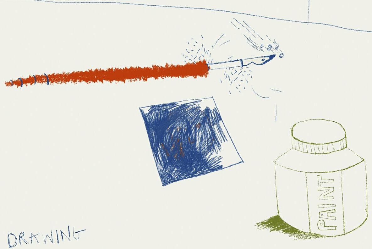 David Hockney Tribute Procreate Brushes
