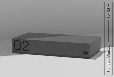 Box 02 Standard Mockup