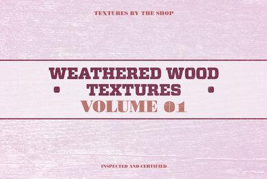 Weathered Wood Textures Volume 01