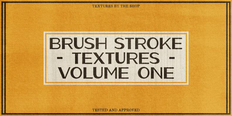 Brush Stroke Textures Volume 01