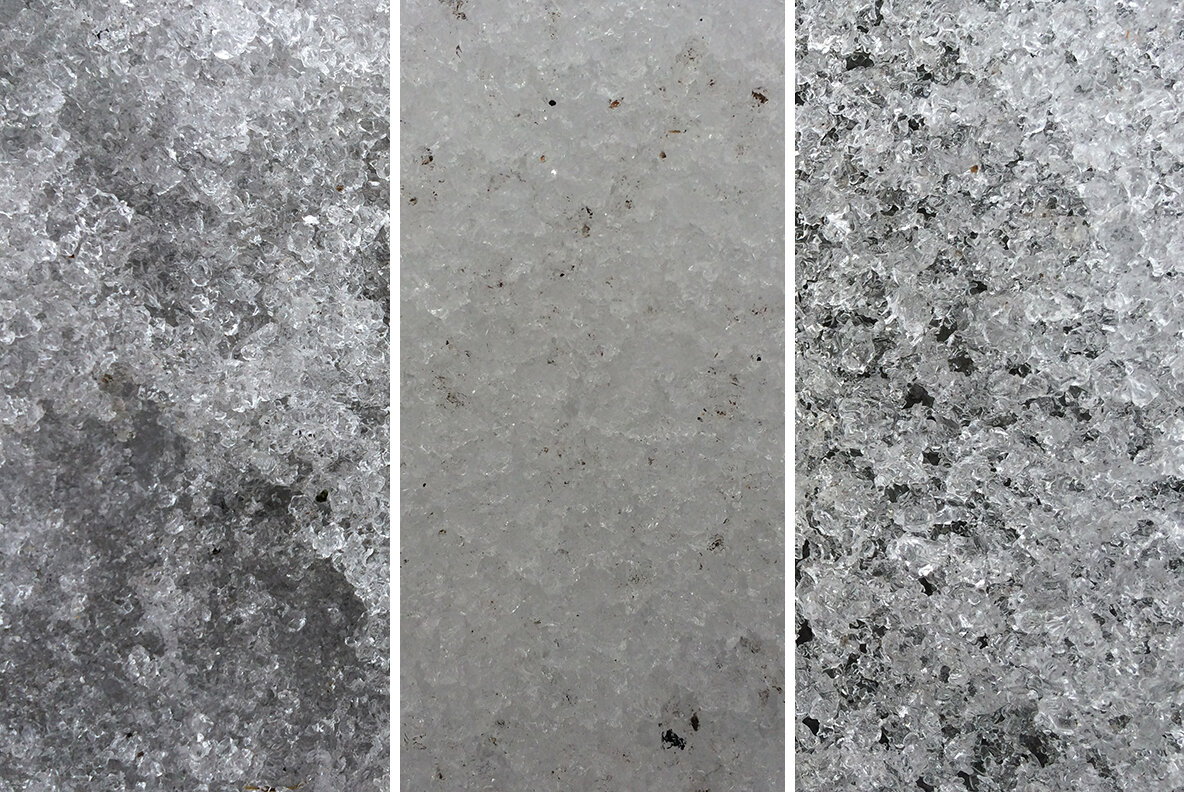 The melting snow   ice texture pack