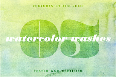 Watercolor Washes Textures Volume 03