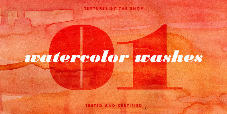 Watercolor Washes Textures Volume 01