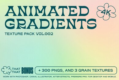 Animated Gradient Texture Pack Vol  02
