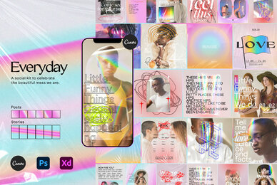 Everyday   Social Kit Instagram   Canva
