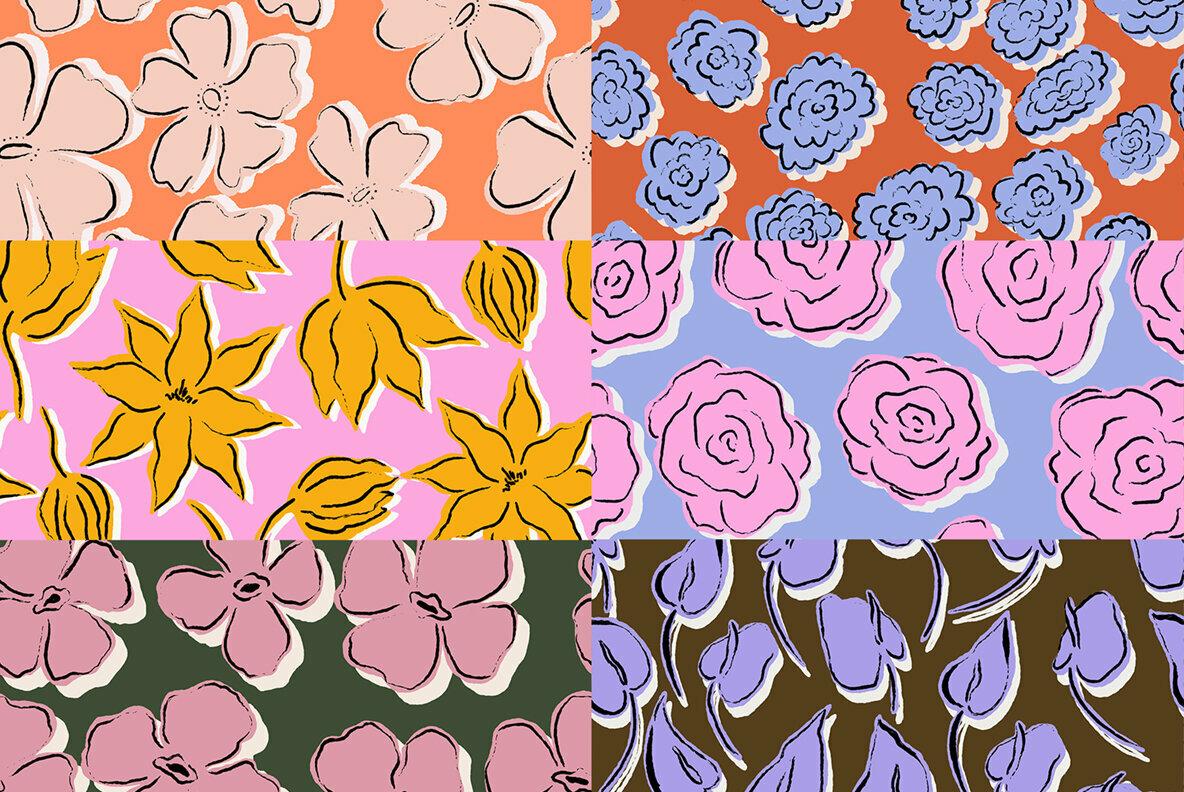 Floral Expression Floral Patterns