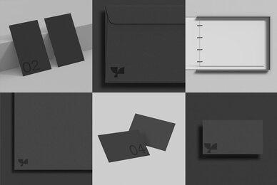 Print Standard Mockup Bundle