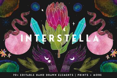 Interstella Mystic Illustrations Kit