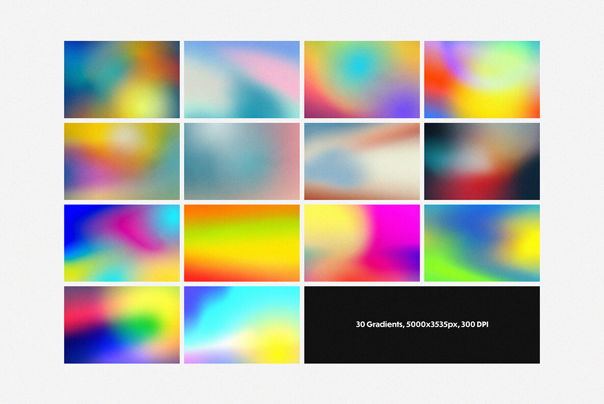 Abstract Gradients   Shapes