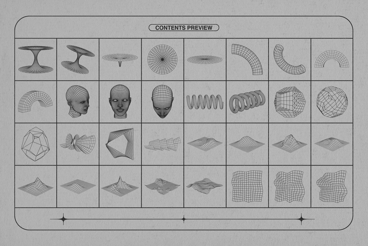 Wireframe Shapes