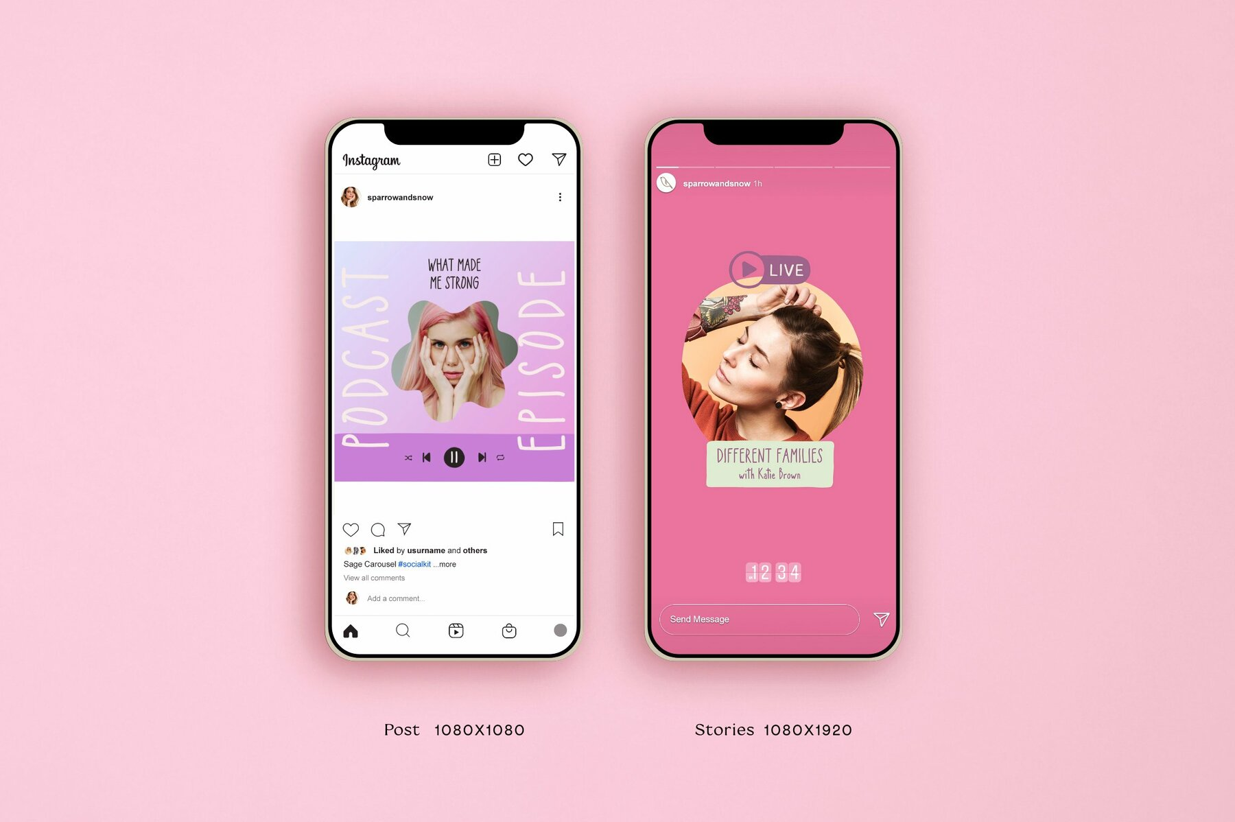 Podcast and Live Instagram Creator