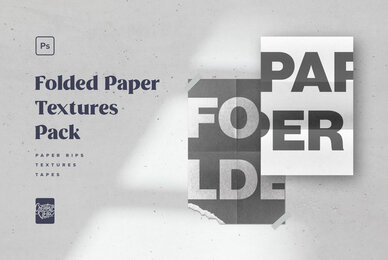 Folded Paper Textures Pack