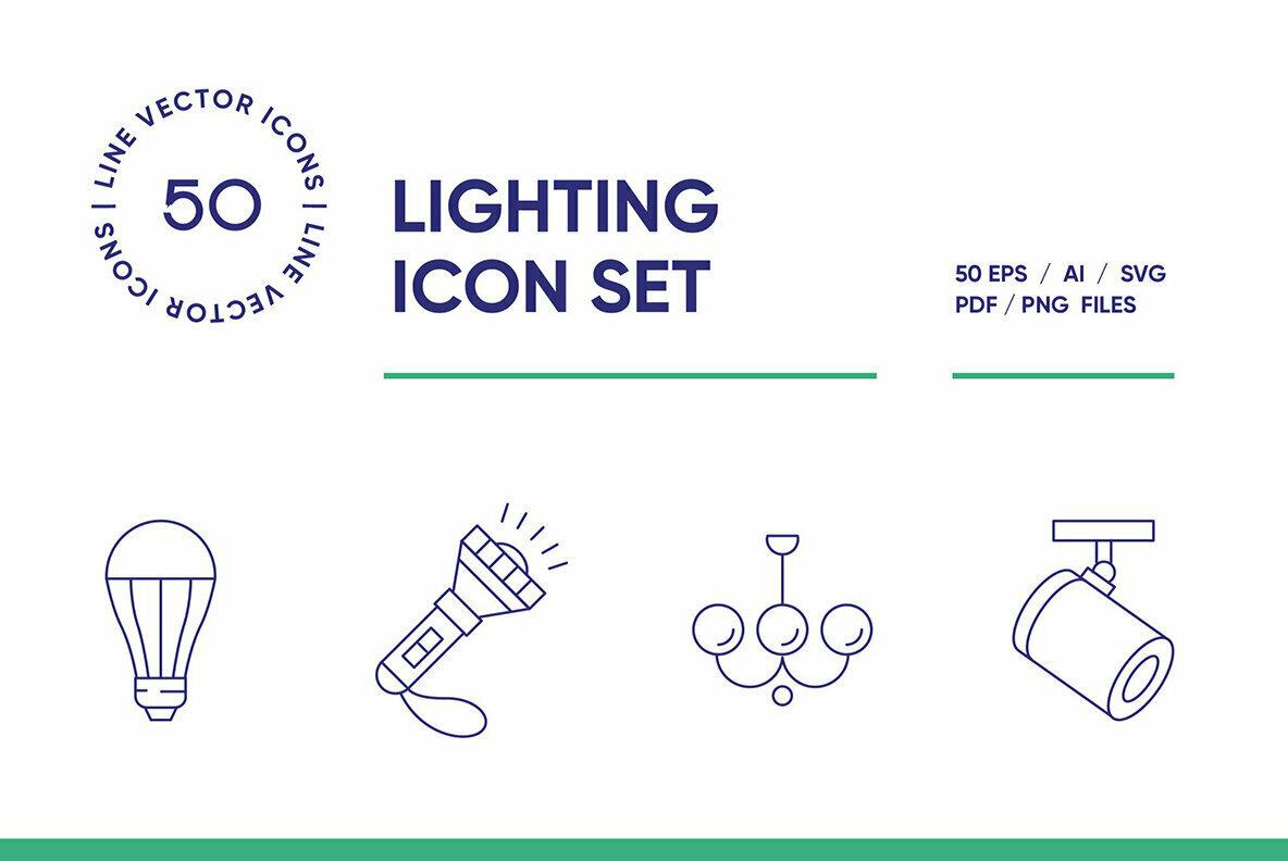 Lighting Icon Set