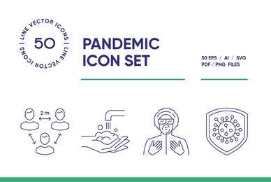 Pandemic Icon Set