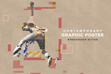 Contemporary Graphic Poster Action