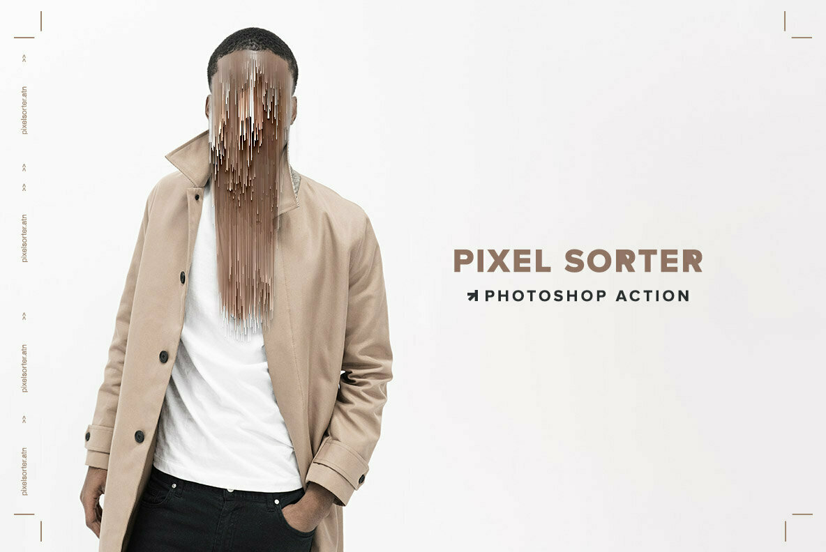Pixel Sorter Photoshop Action