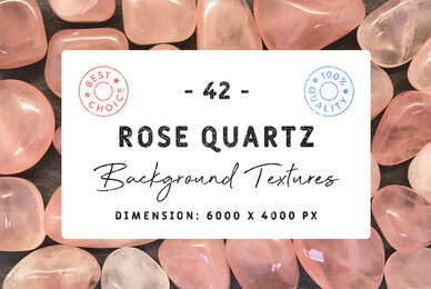 42 Rose Quartz Background Textures