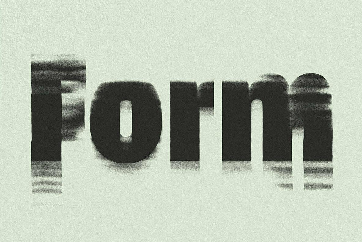 Form Displacer