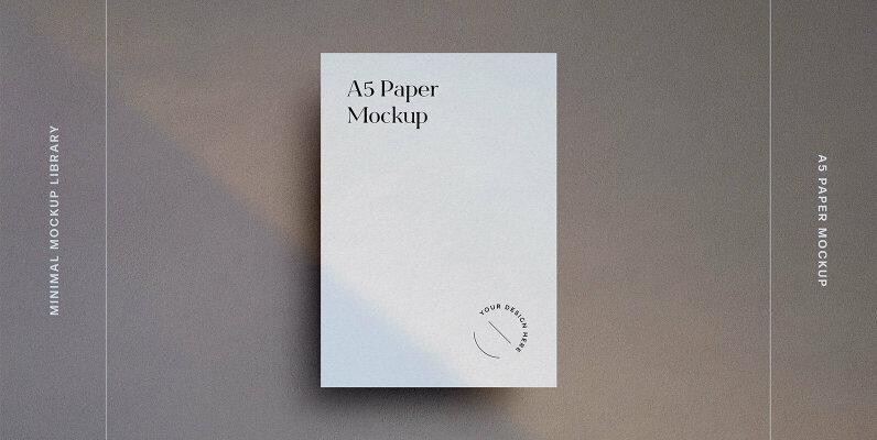 A5 Paper Mockup Kit