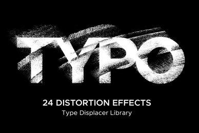 Typo   24 Distortion Effects