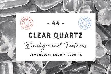 44 Clear Quartz Background Textures