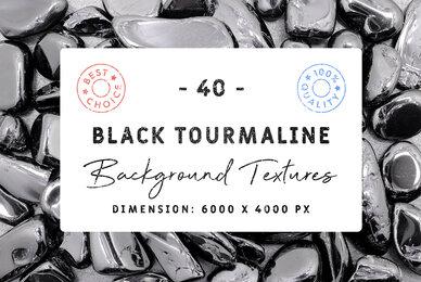40 Black Tourmaline Background Textures