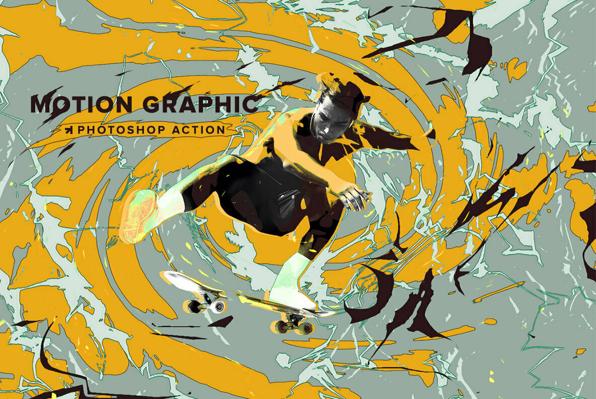 Motion Graphic Photoshop Action