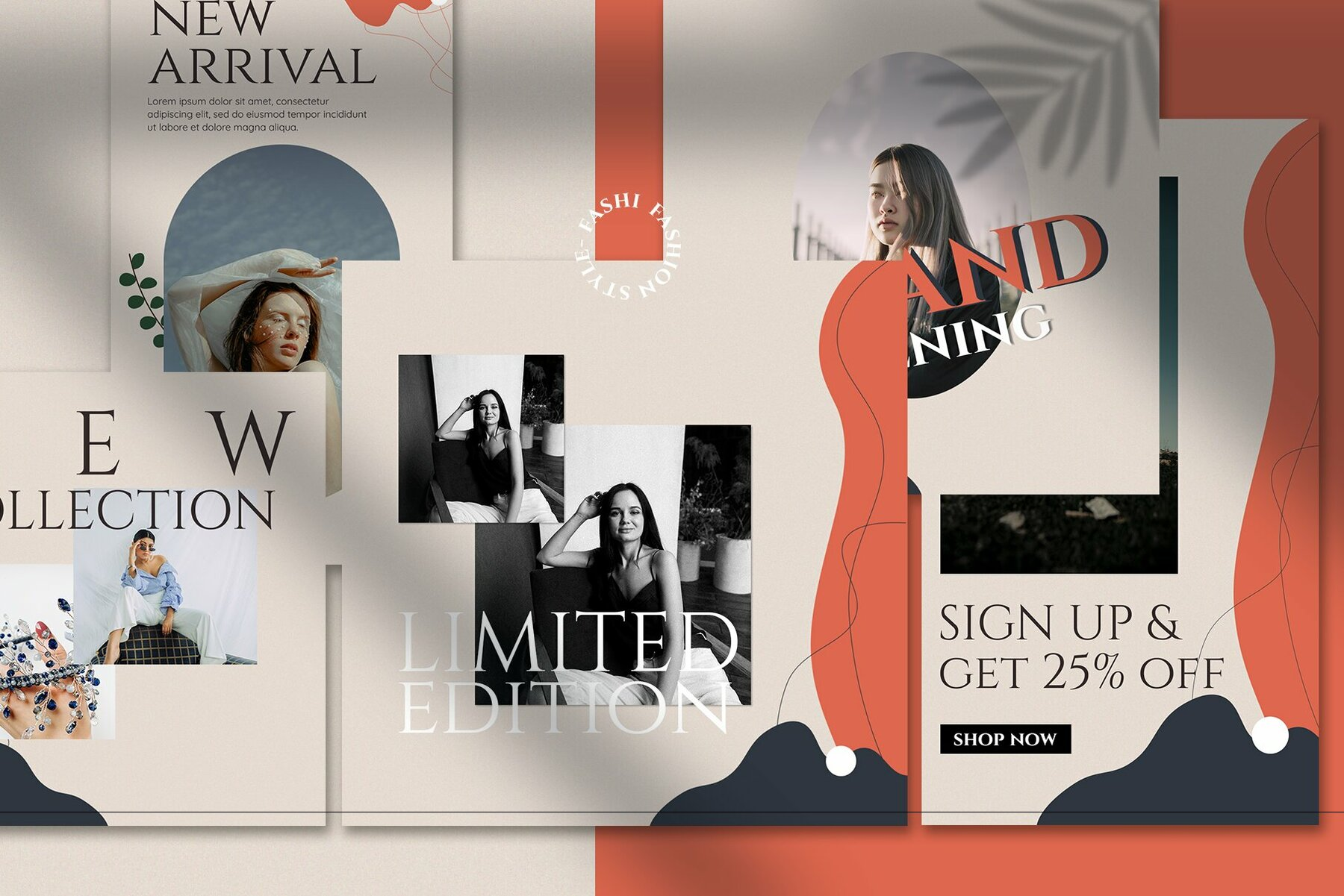 Fashion Style Instagram Template