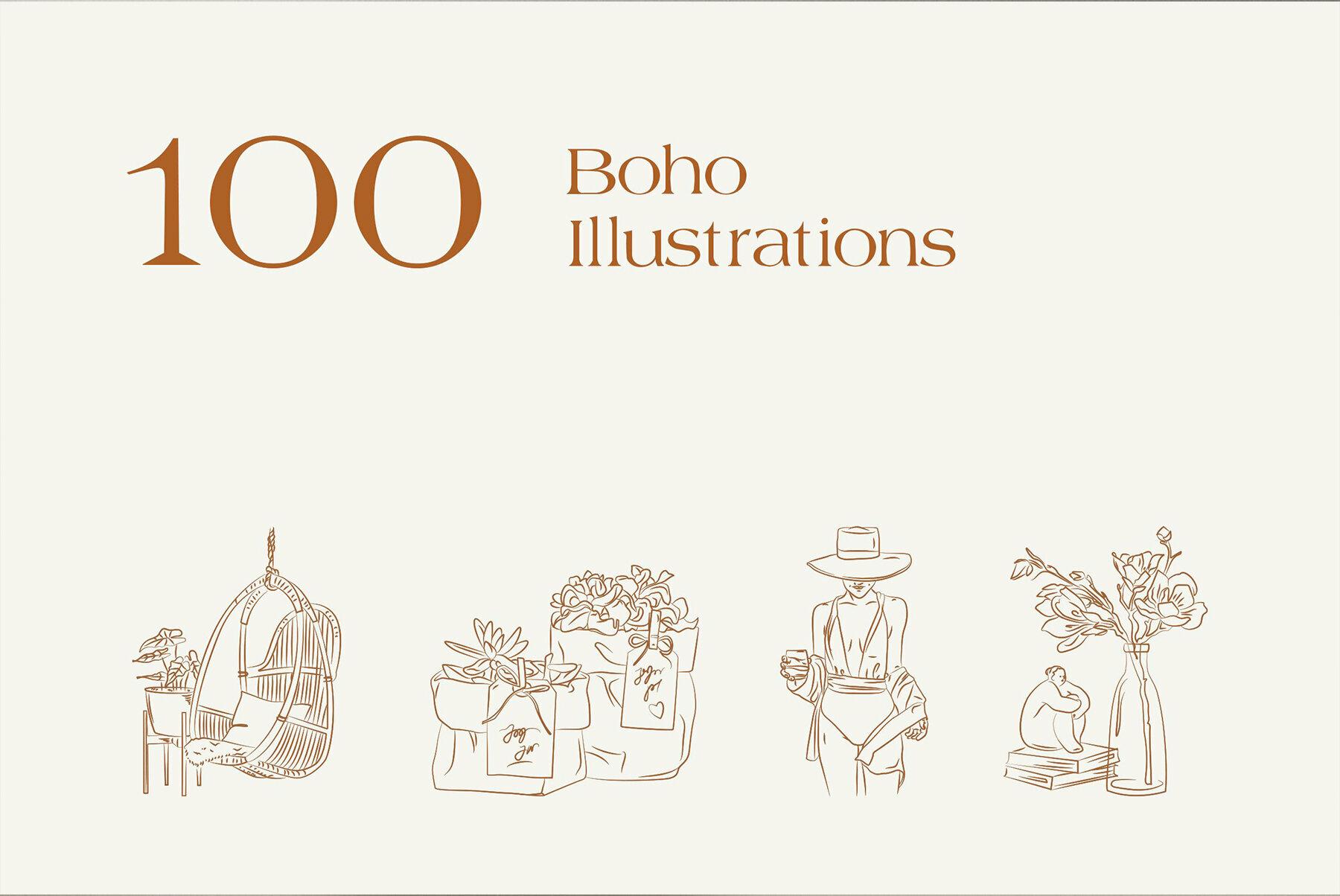Bohemian Logo Kit