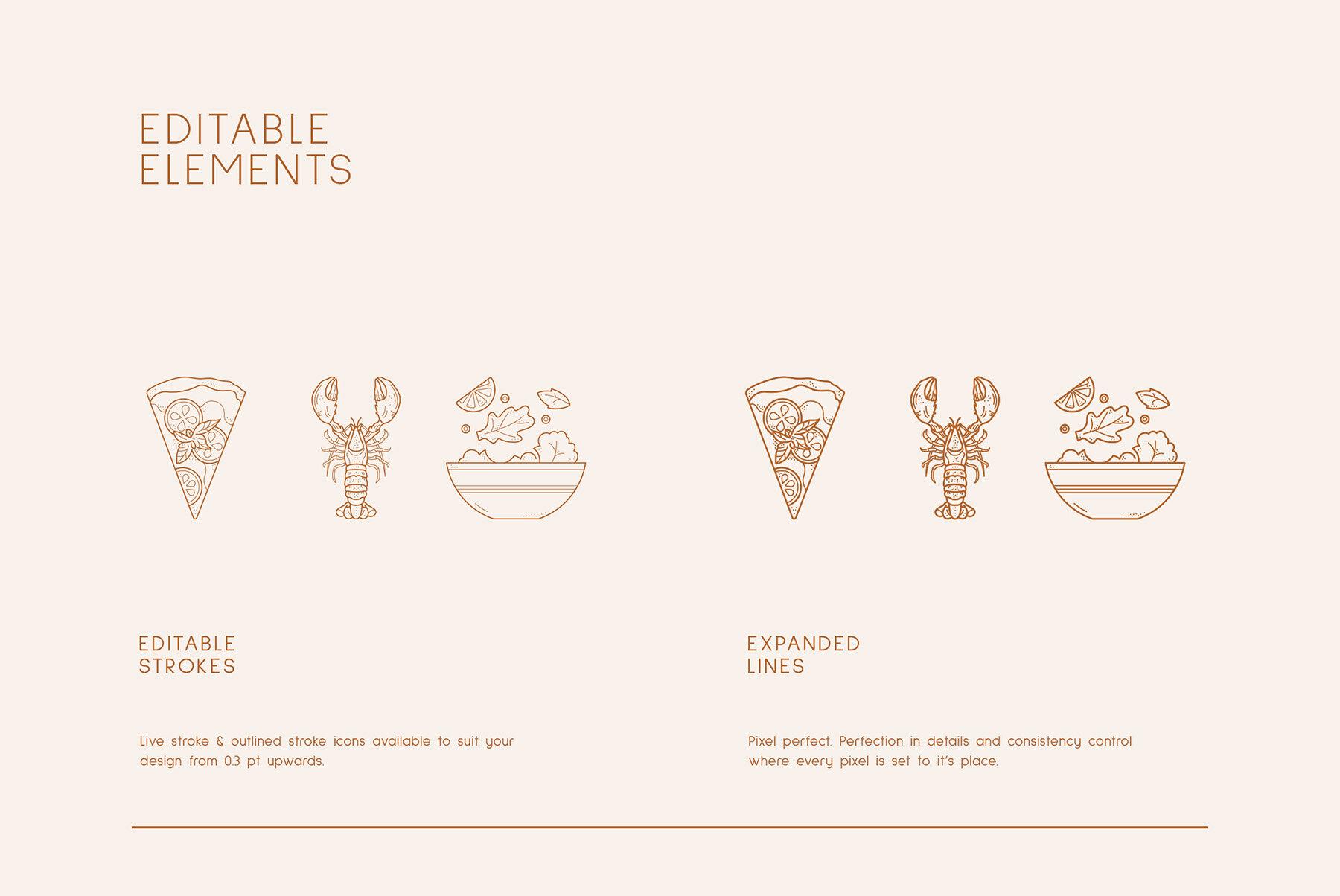 Food Logo Kit