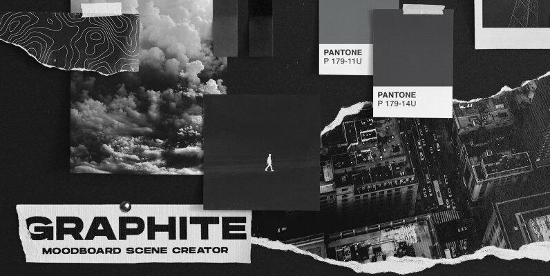 Graphite Moodboard Scene Creator