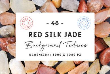 46 Red Silk Jade Background Textures