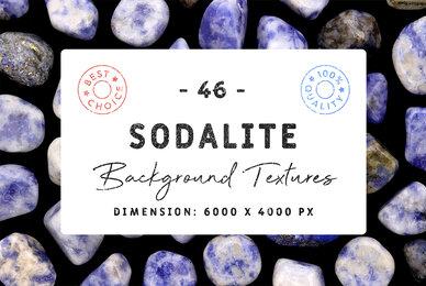 46 Sodalite Background Textures