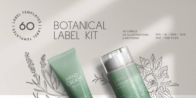 Botanical Label Kit