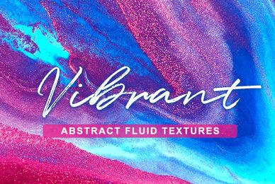 VIBRANT   Abstract Fluid Textures