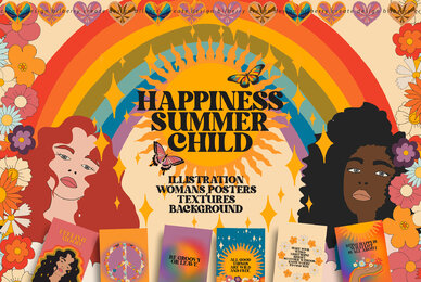 Happiness Summer Child Art Set